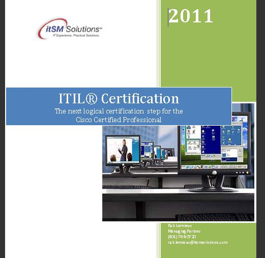 Cisco Guide to ITIL