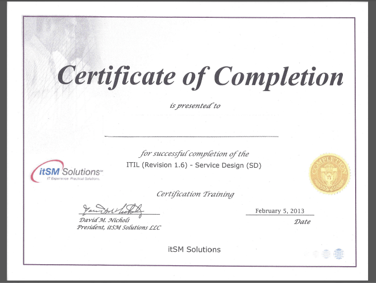 Pics Photos - Certificate Of Attendance With A Scholastic Border ...
